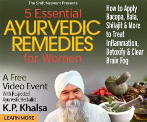 Ayurvedic remedies for women over 40 for pain, inflammation, and anti-aging: FREE with K.P. Khalsa from the Shift Network 1 Ayurvedic remedies for women over 40 for pain, inflammation, and anti-aging: FREE with K.P. Khalsa from the Shift Network