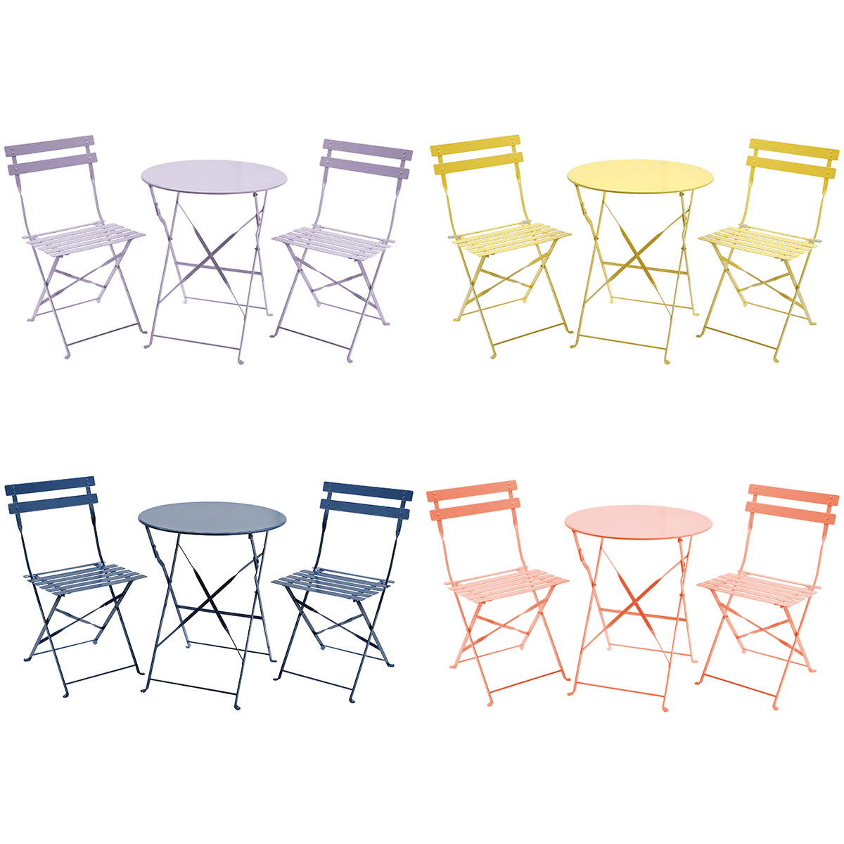 Chaises Jardin Style Bistrot