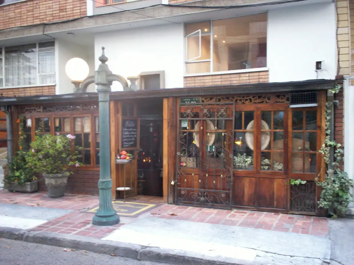 el patio restaurante cafe bogota