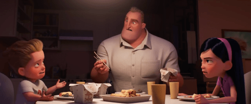 Bob Plays 'Single' Dad To The Kids In The First Trailer For The Incredibles 2