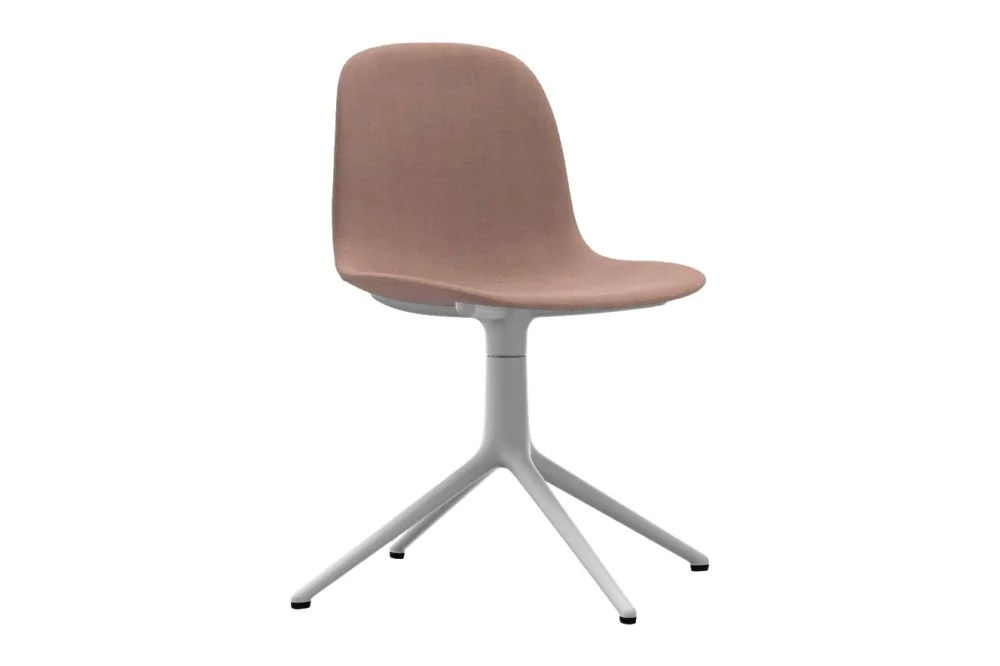 Upholstered Swivel Chairs Form Swivel Chair 4l Fully Upholstered From Normann Copenhagen