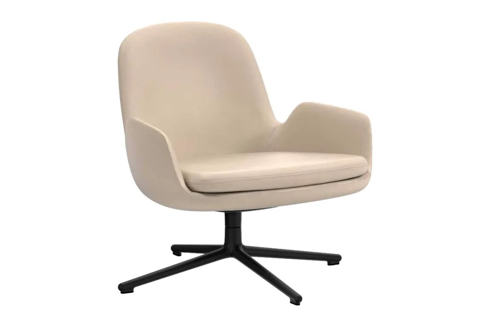 Eggshell Chair Era Lounge Low Chair Swivel From Normann Copenhagen