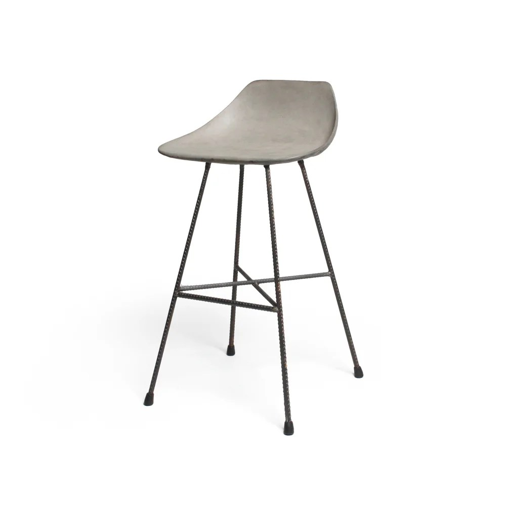 Counter Chair Concrete Hauteville Counter Chair From Lyon Beton