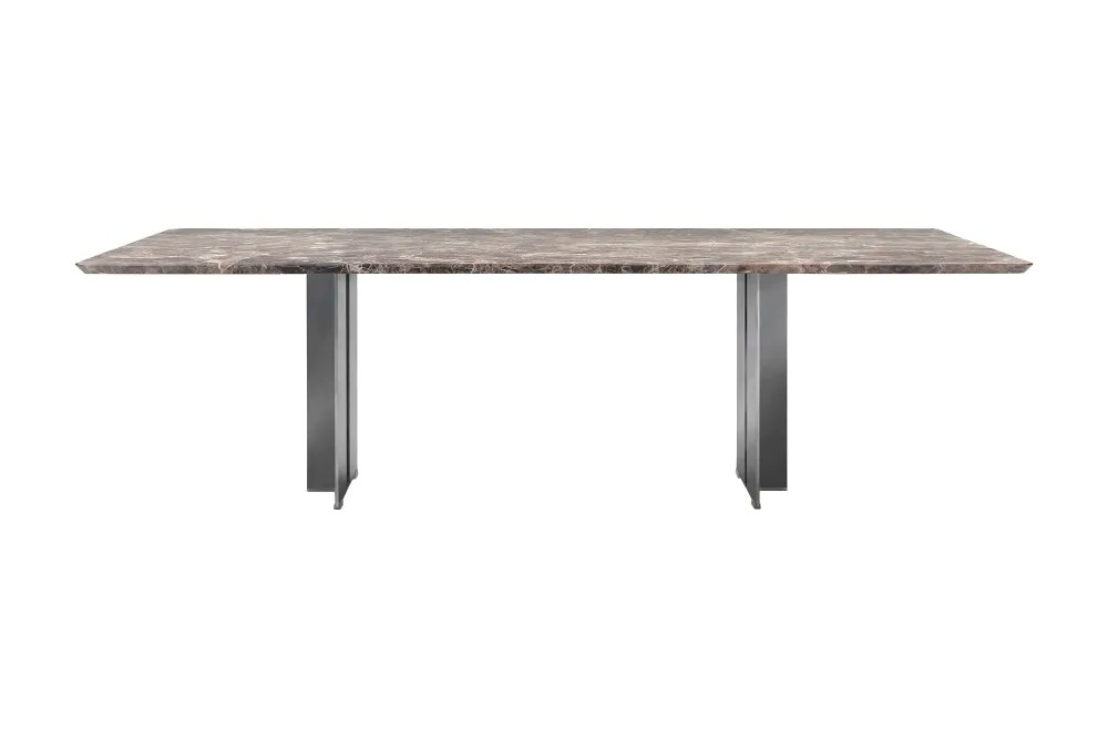 spello dining table large marble top by flexform