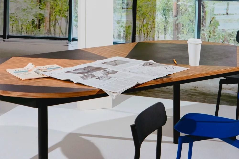 tavla extendable dining table petite friture