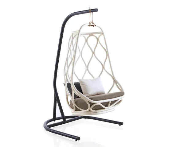 swing chair with stand kuwait metal nautica outdoor base by expormim from