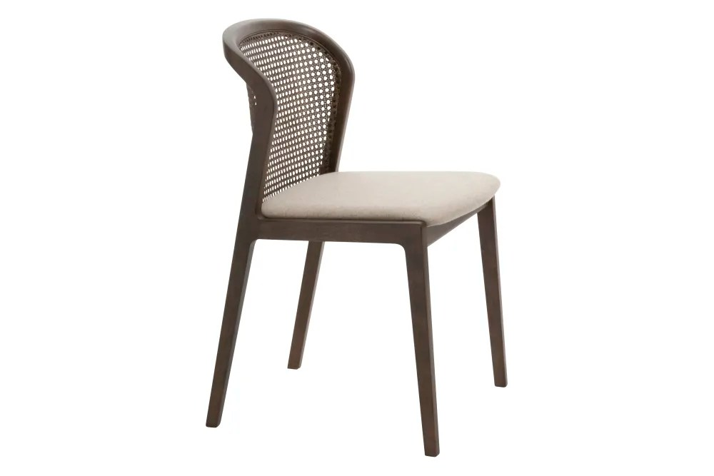 dining chairs italian design teak vienna chair canaletto beige by cole label