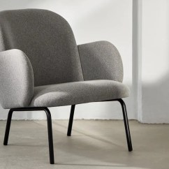 Chair With Light Dental Saddle Australia Dost Lounge Grey By Moxon London