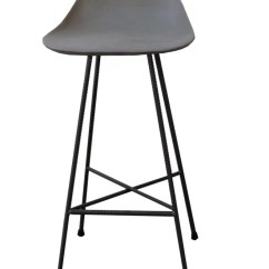 Bar Chairs Concrete Futon Chair Covers Walmart Hauteville By Lyon Beton Clippings