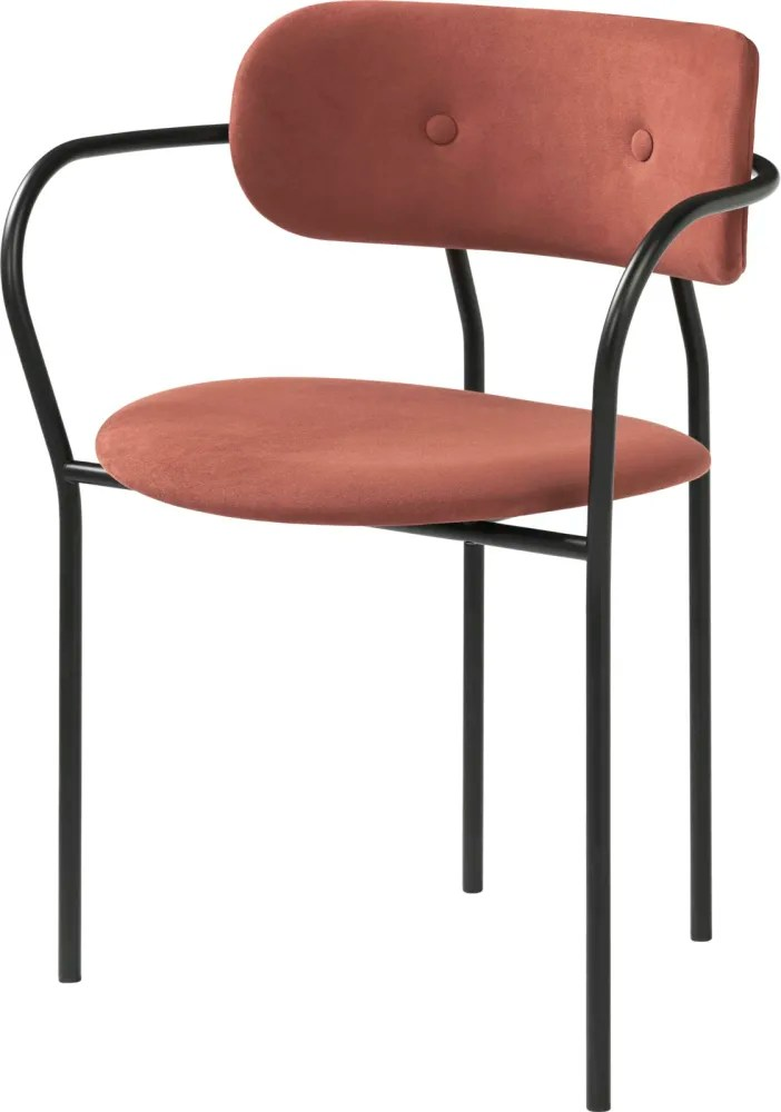 dining chair with armrest covers for weddings ebay coco fame hybrid 01101 by gubi clippings