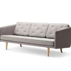 Moods 3 Seater Leather Sofa Bed Minnie Mouse Piece Set No 1 Crisscross 1601 Mood 3101 Oak Lacquered Base By Fredericia