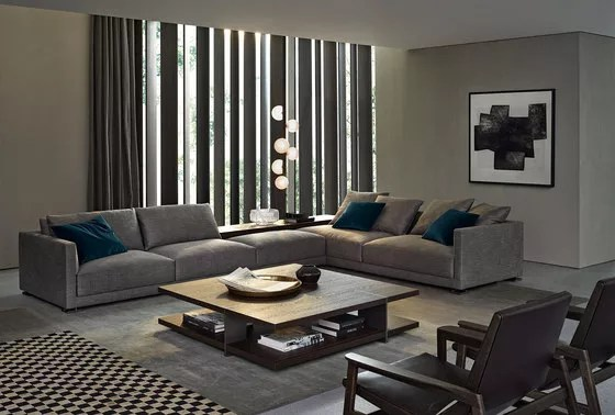 Bristol sofa by Poliform by JeanMarie Massaud for Poliform