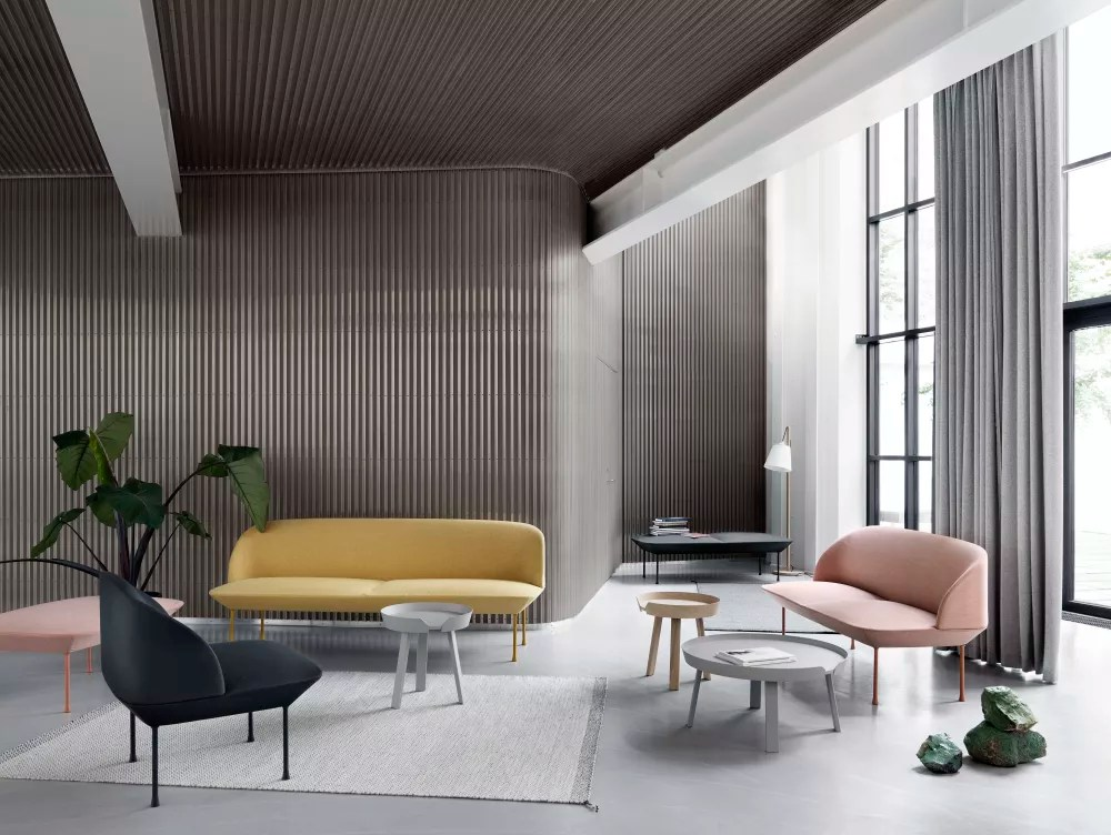 grey lounge chair korum accessories uk oslo sofa bench steelcut 2 160 by anderssen & voll for muuto clippings