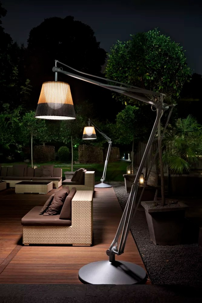 SuperArchimoon Outdoor Floor Lamp Panama by Philippe