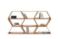 Tetra Modular Shelving System Walnut, Six Units by Made in ...