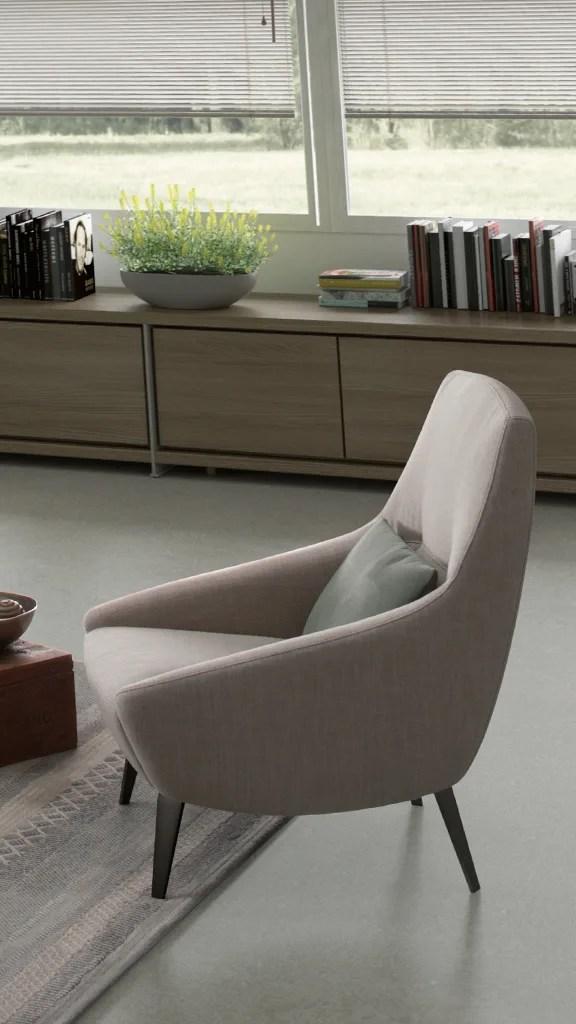 poltrone  moderne  di design  soggiorno  salotto  febal casa