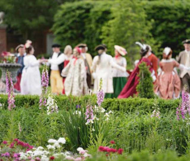 Mr Jeffersons Palace Garden Party