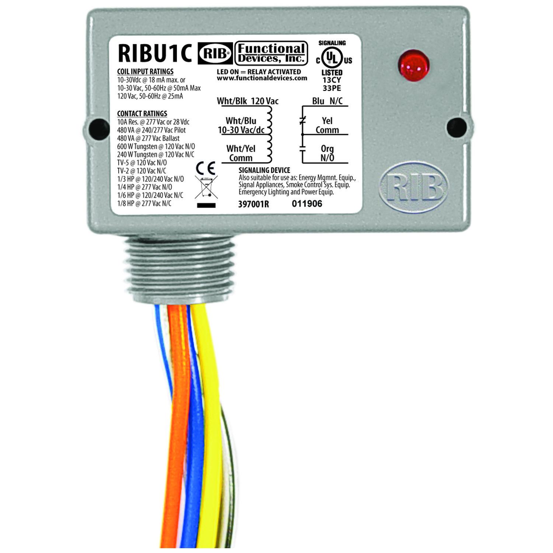 rib relay dpdt wiring diagram