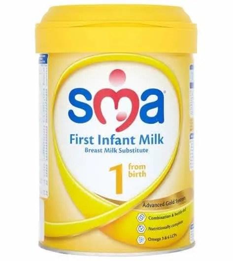 SMA First Infant Milk price