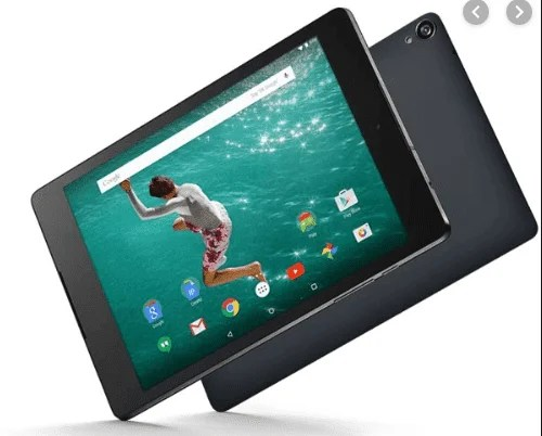 Specs, Review and Prices of HTC Tablets in Nigeria(2020)-HTC Google Nexus 9 LTE