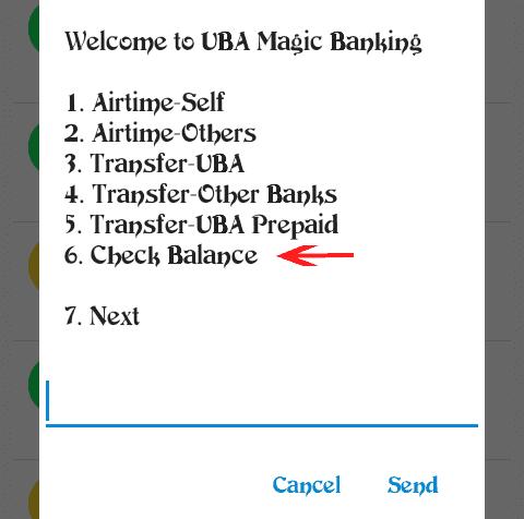 UBA Check Balance-USSD Code for checking UBA Account Balance