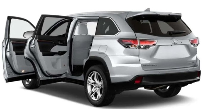 Review and Prices of Toyota Highlander