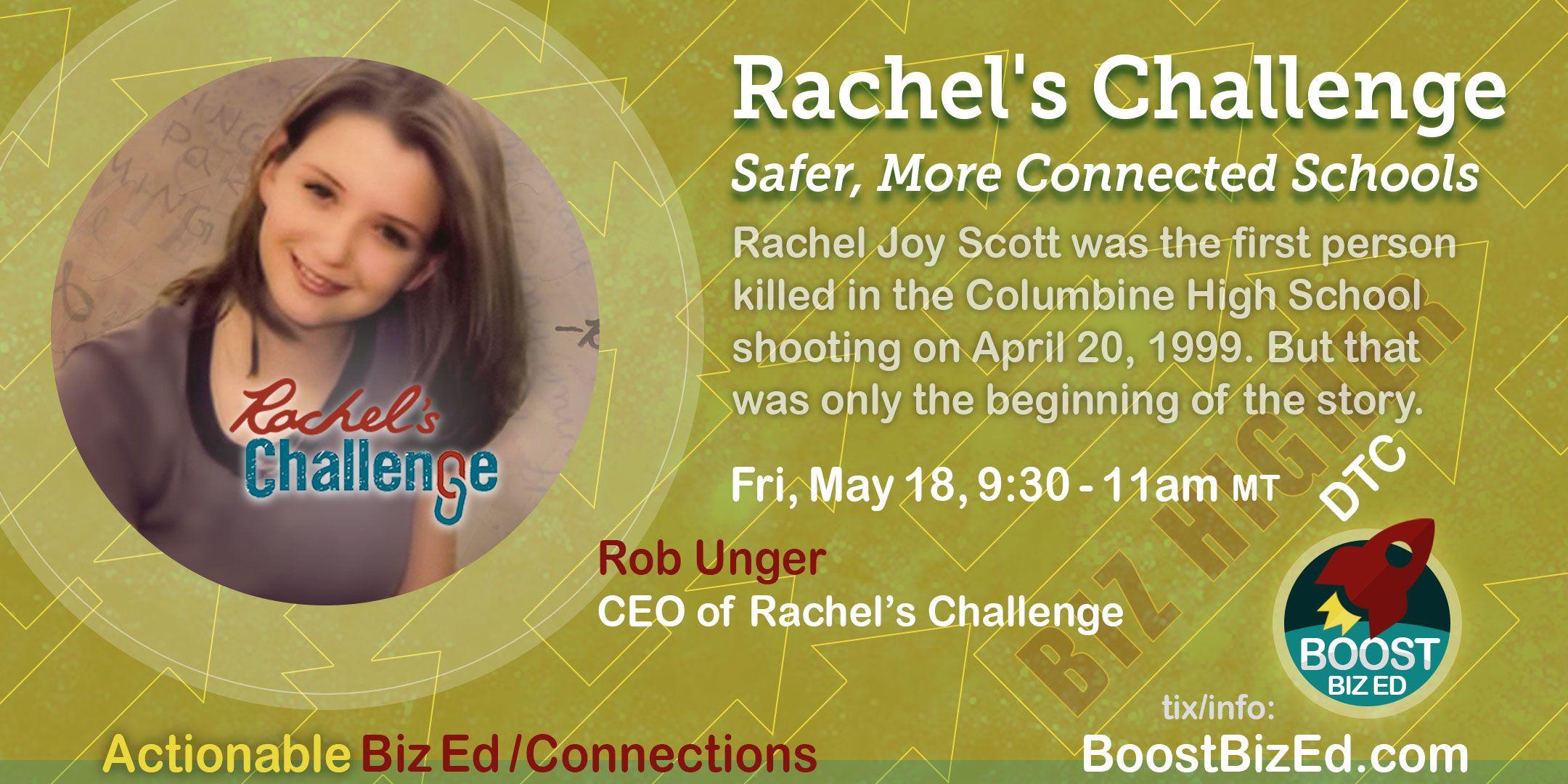 Rachel S Challenge Safer More Connected Schools