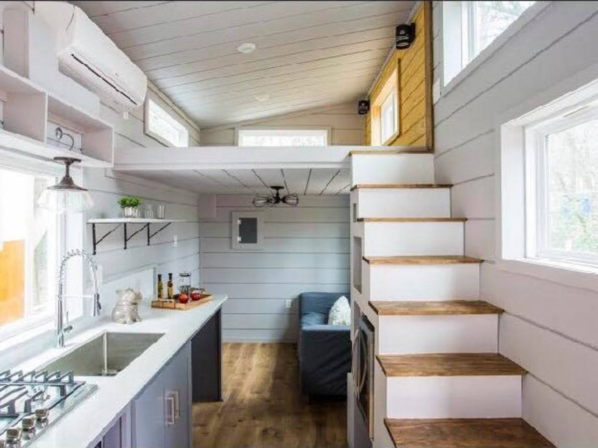 hight resolution of tiny house austin