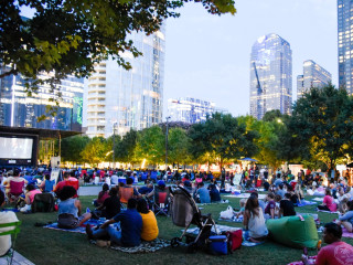 Movie at Klyde Warren Park