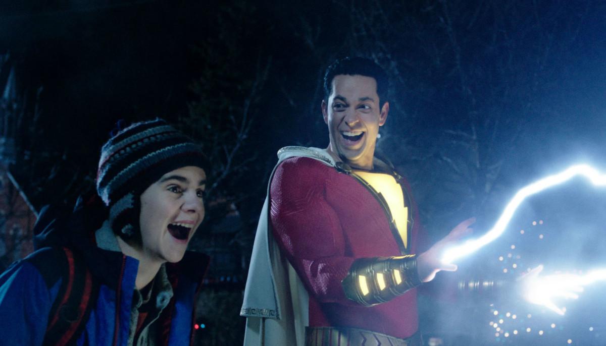 Shazam zaps the fun back into the DC Comics movie