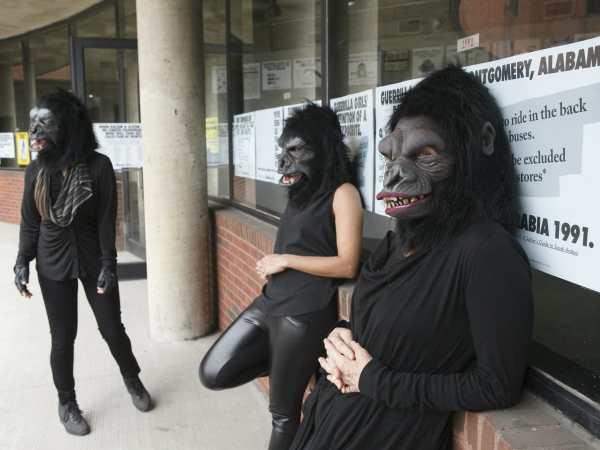 Guerrilla Girls Descend Dallas Explore Politics Of Art - Culturemap