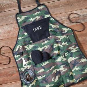 personalized-deluxe-camouflage-grilling-apron-set
