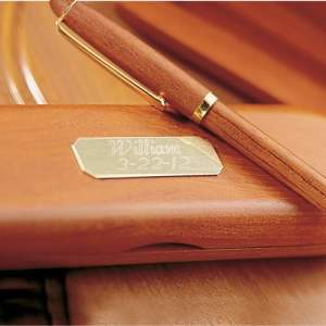 Personalized Rosewood Pen