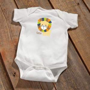 personalized-baby-bodysuit-lion