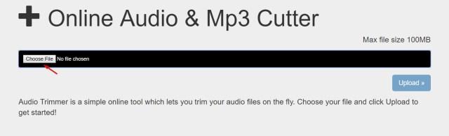 Alat Pemotong Audio Online