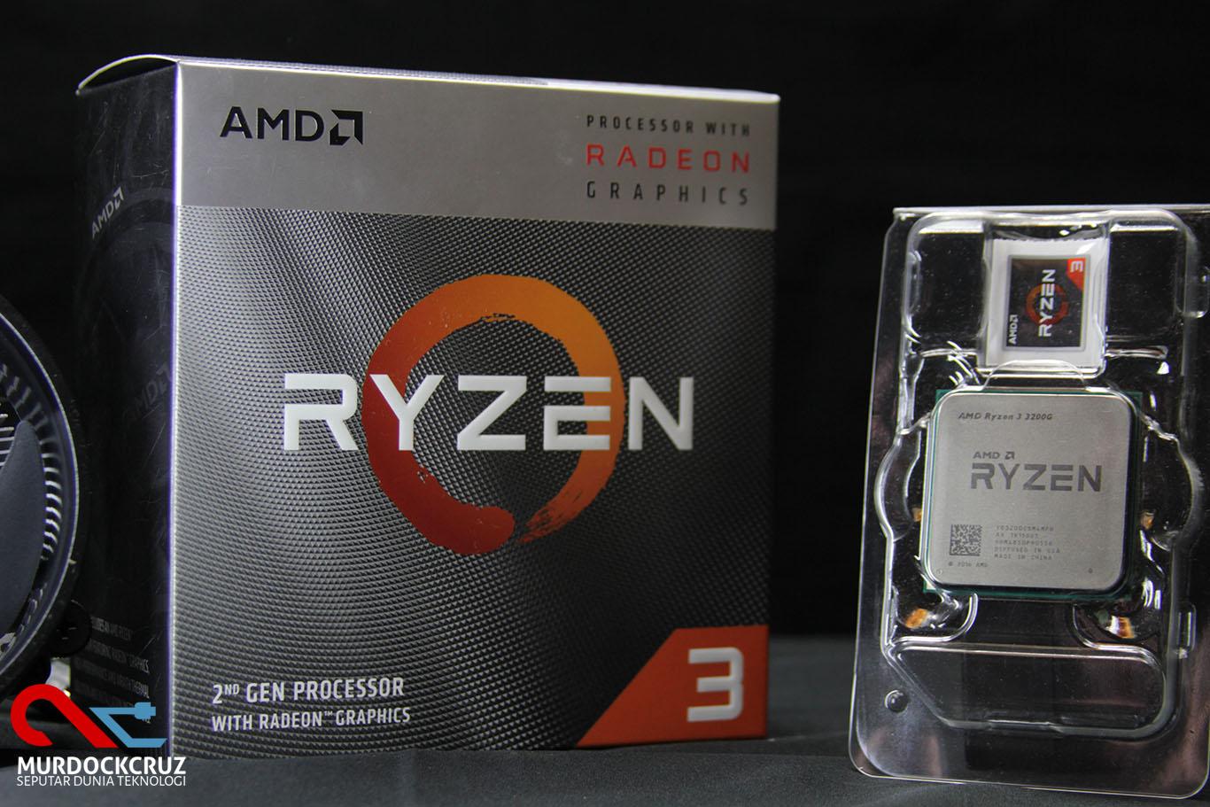 AMD Ryzen 3 3200G Review : Budget CPU Powerful Dengan Banyak