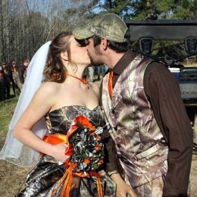 how to have a redneck wedding