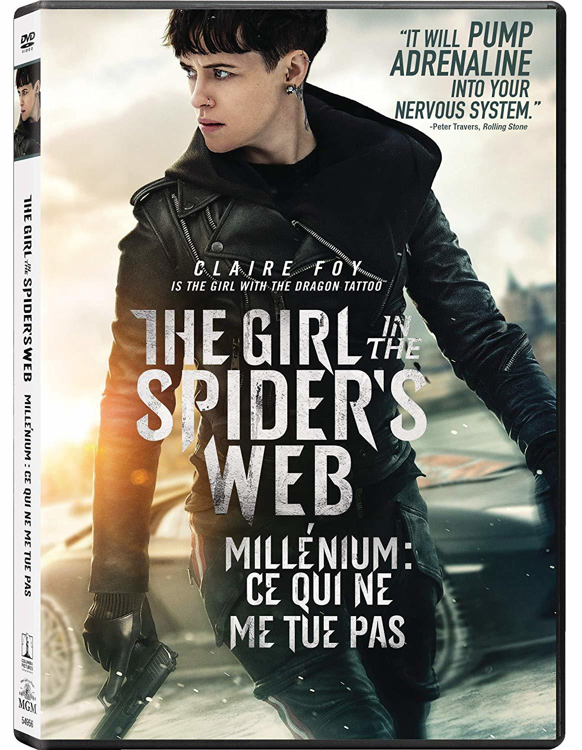 Millenium : Ce Qui Ne Me Tue Pas : millenium, Spider's, (DVD), (Sony), Entertainment, Source
