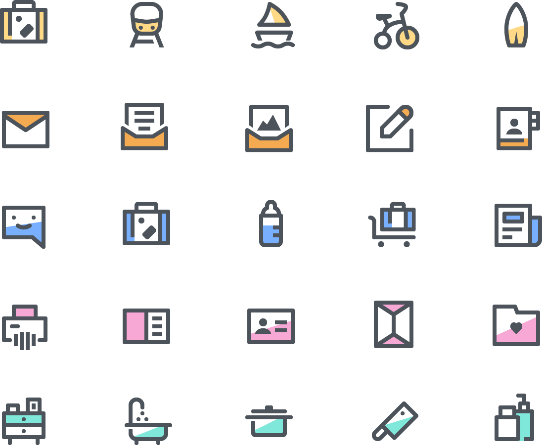 budicon premium icon set