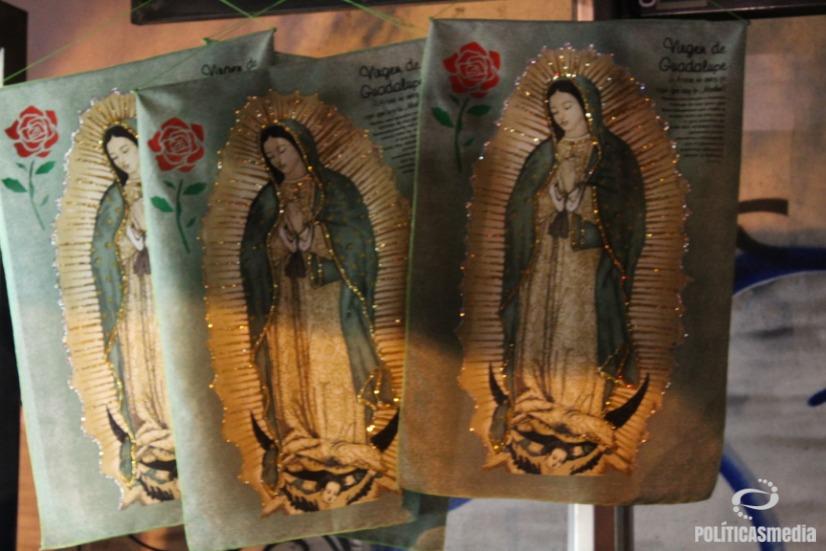 Peregrinos en la Ciudad de México, rumbo a la Basílica de Guadalupe. Foto: Tlaliztitzin Arellano.