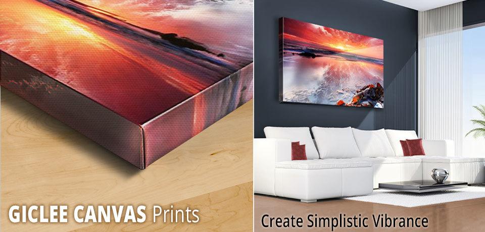 photos on canvas printing