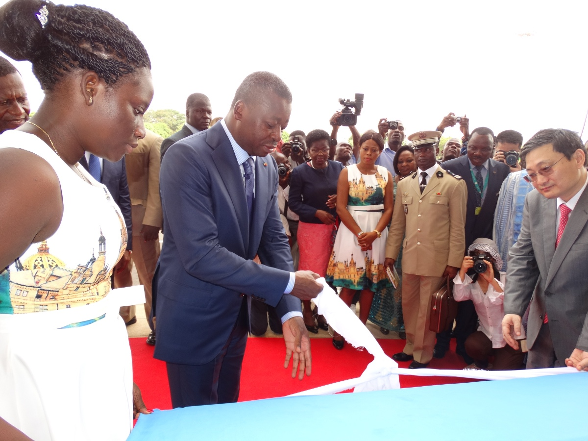 Inauguration du nouvel aérogare de Lomé