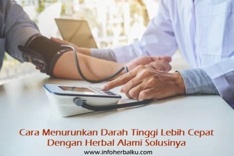 Cara Menurunkan Darah Tinggi Di Apotik