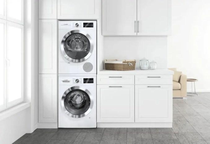 space of washing machine