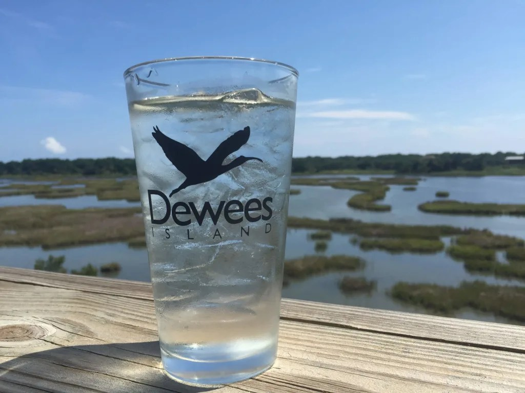 water and Dewees