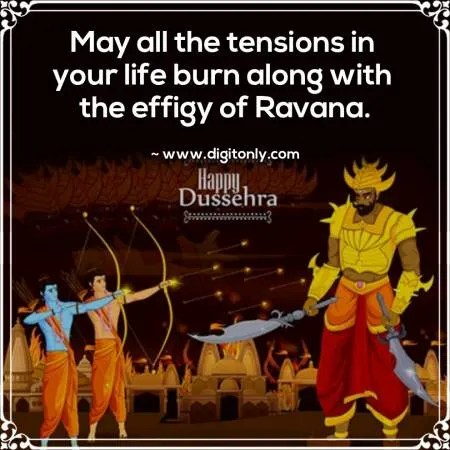 Happy Dussehra wishes quotes in english