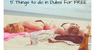 Dubai Free things to do