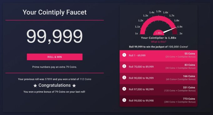 bitcoin mining with cointiply