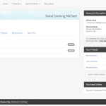 Overview (Dashboard) Page