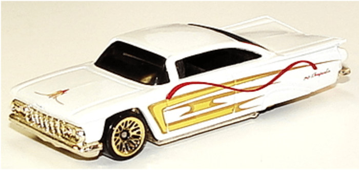 Hot Wheels 59 Impala Collector Number 1000